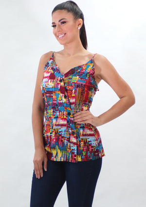 Multi-colored top | H-474 (267)