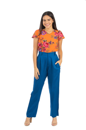 The color of the Flowers Top | NR-371
