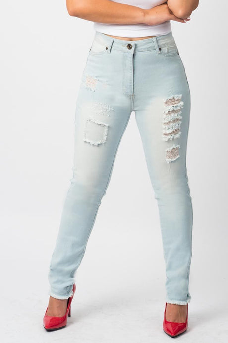 High Rise Jeans | NR 2623