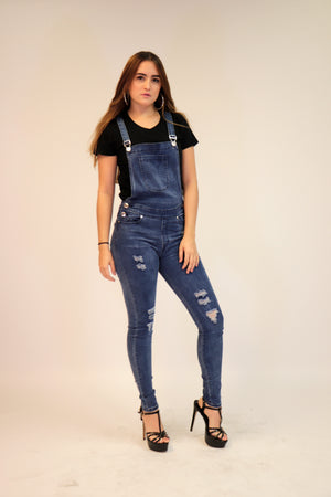 Denim Jumpsuit | H-2669