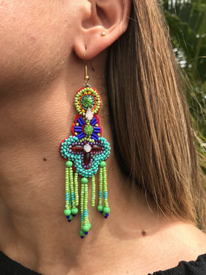 Flamenco | Earrings E-36
