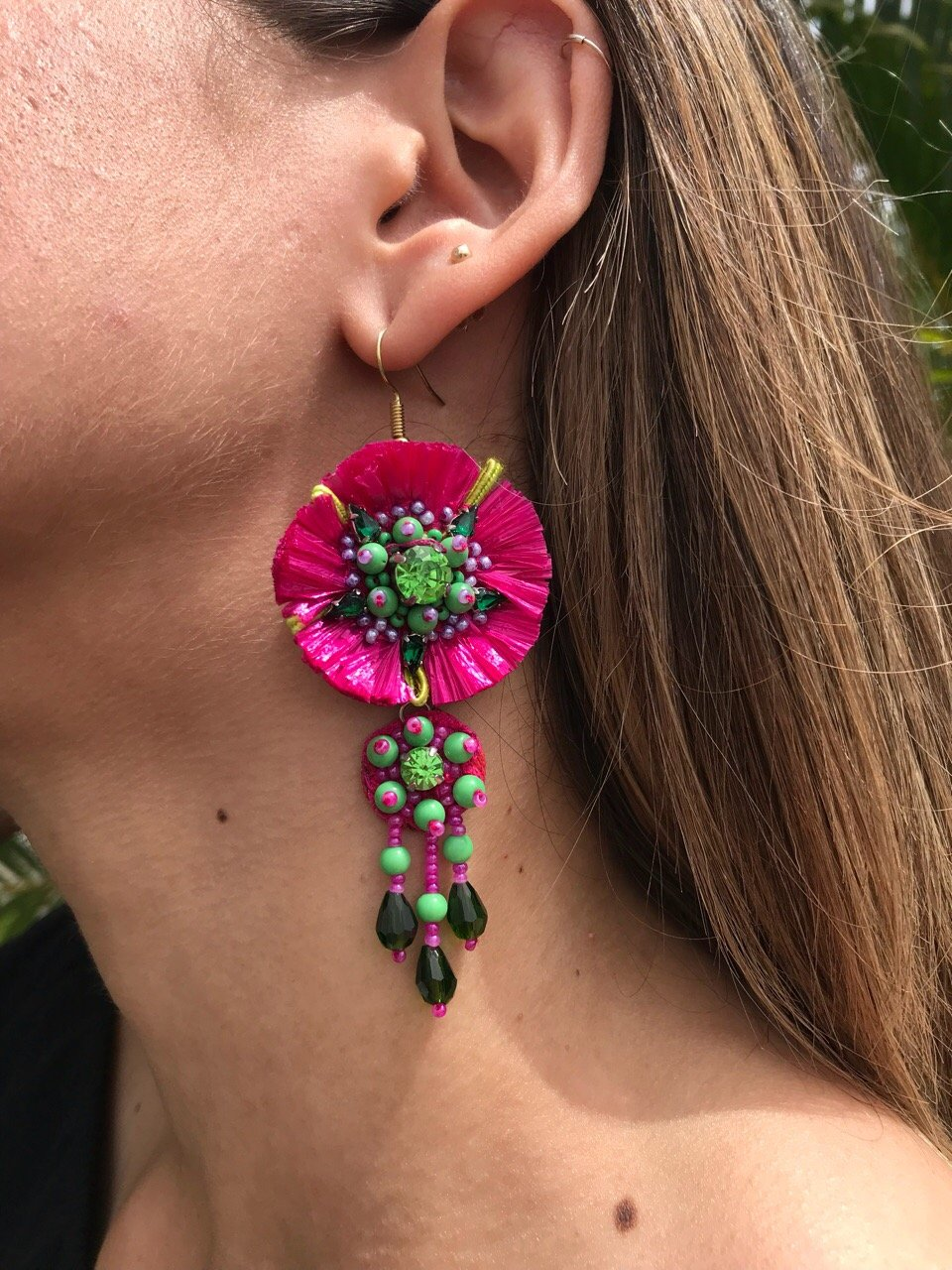 Flower Earrings | E-42