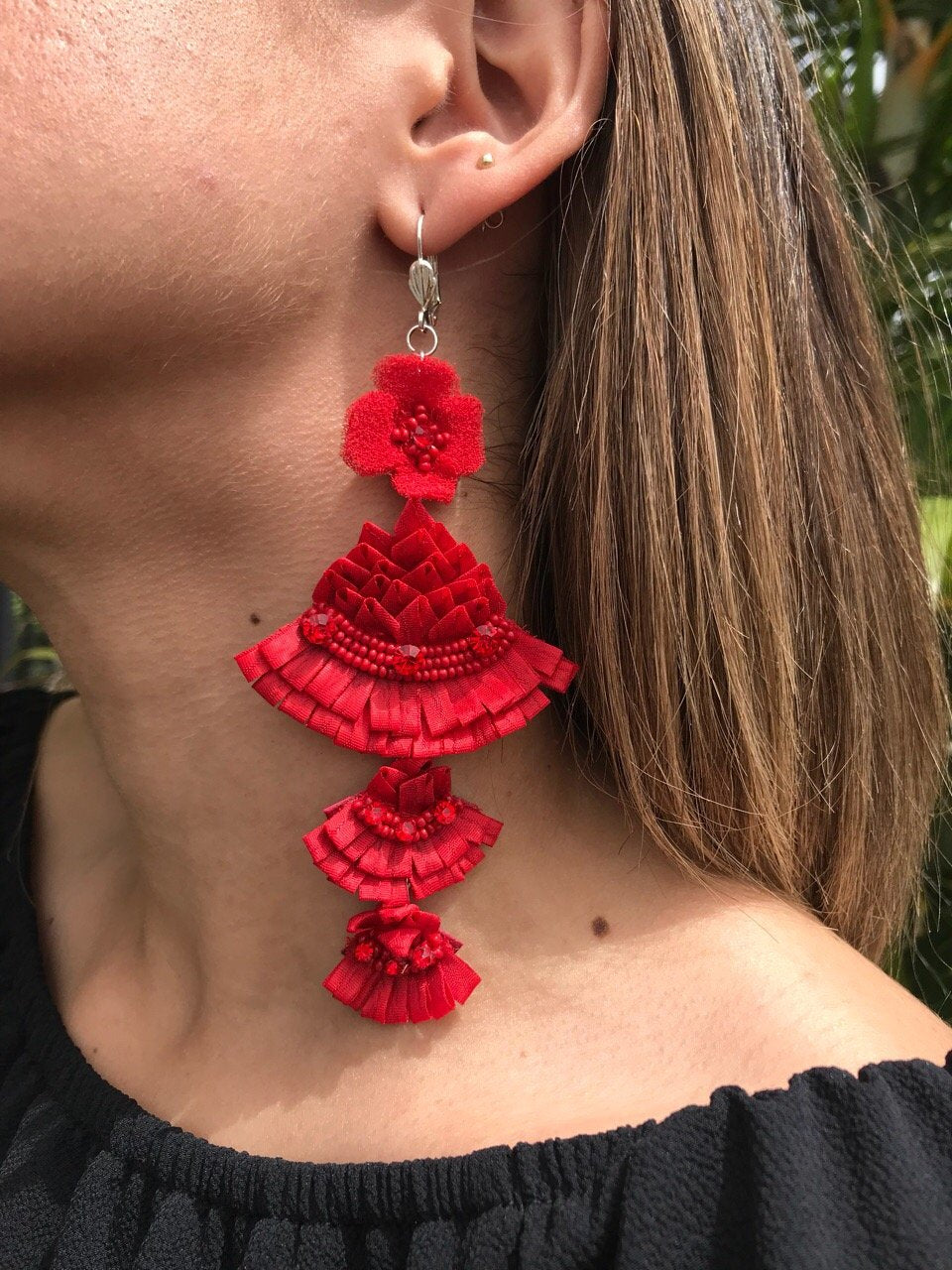 Spanish Dancer Earrings | E-10