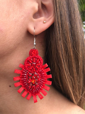 Fire Earrings | E-43
