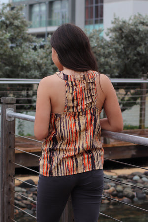 Earthy Halter Neck Top | IQ-111