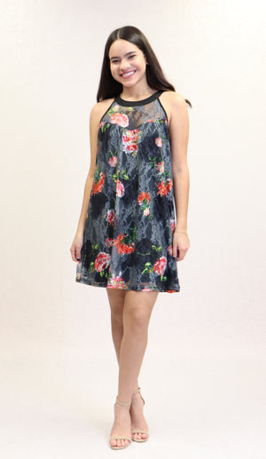 Maricela Dress | NR-678 (Black)