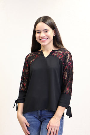 Nikki Top | NR-673 (Black)