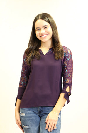 Bella Top | NR-673 (Purple)
