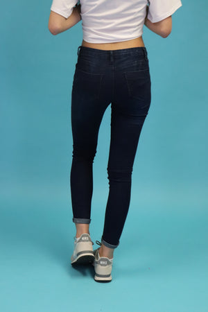Mid Rise Jeans | H-2647