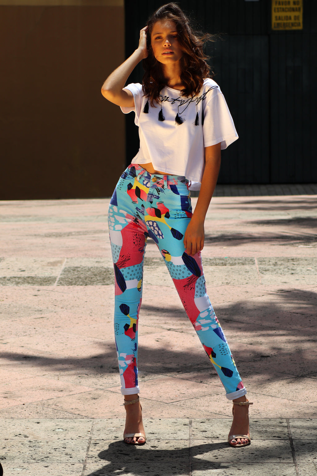 Abstract Pant | H-465 (Reg & Plus size)