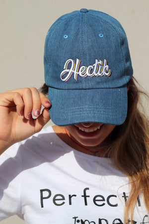 Hectik Denim Blue Cap | H-1000