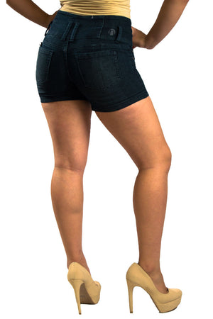 High Waist Denim Shorts | 2588s - Hectik  - 2