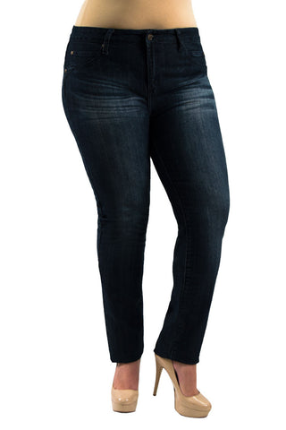 Mid Rise Denim Plus Size Jeans | 2594X