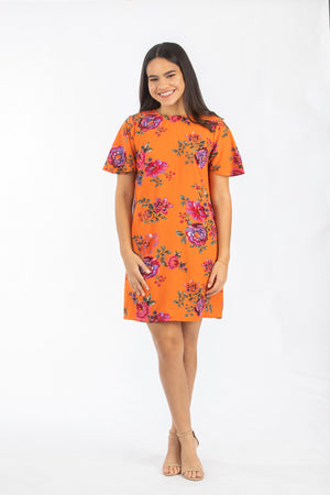 The color of the Flowers Dress | NR-370