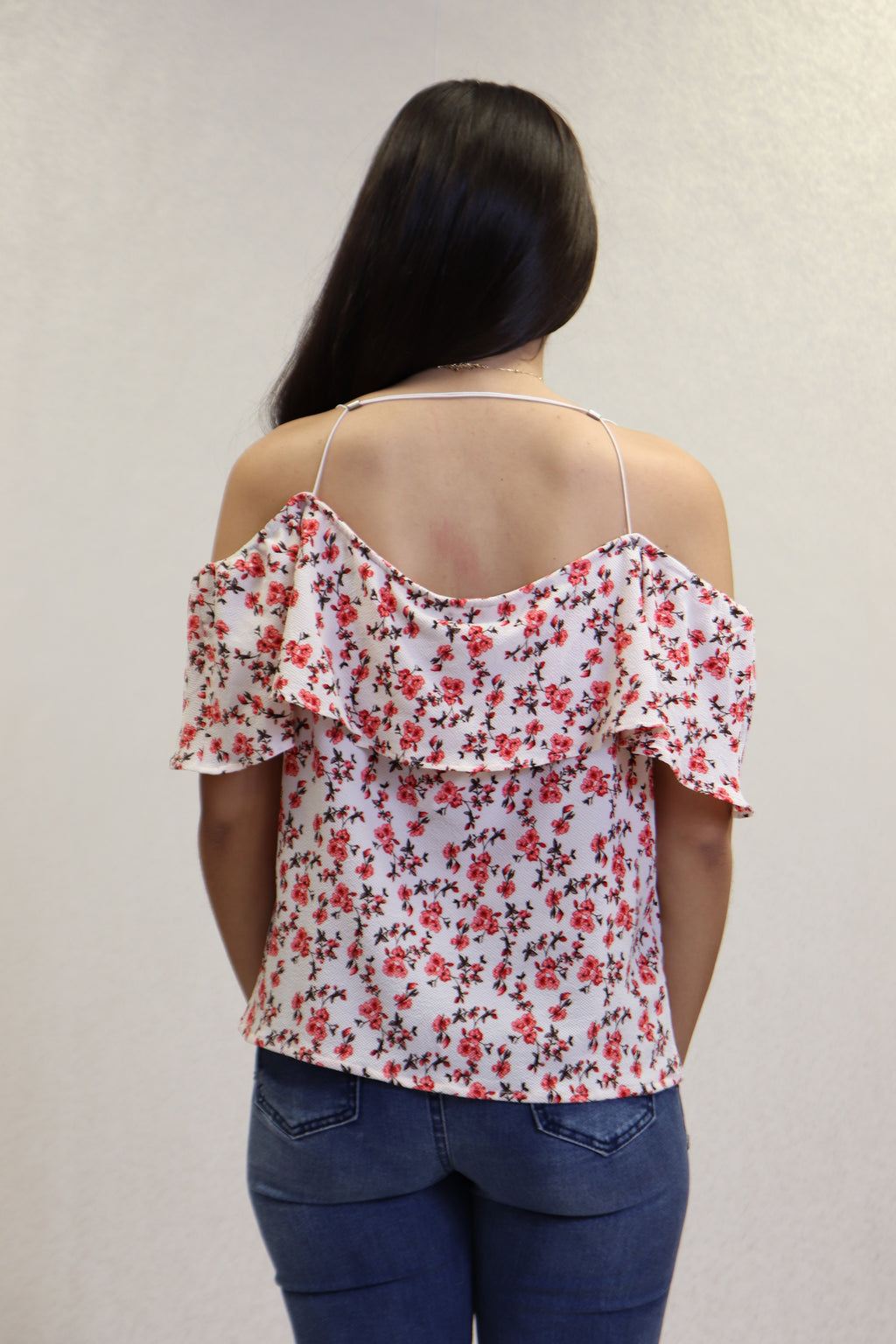 Off Shoulder Floral Top | 382