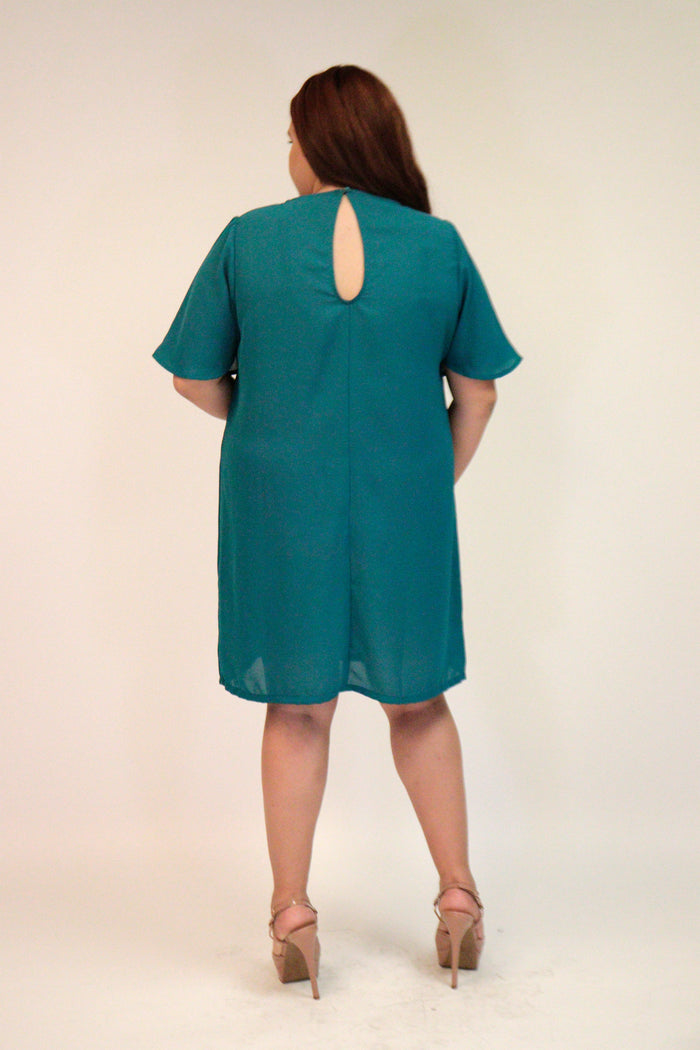 Teal Dress Plus | NR-460X