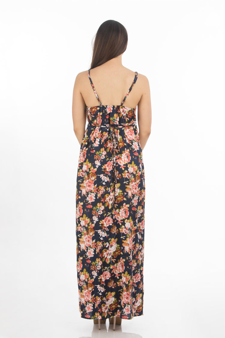 Wrap Around Maxi Dress | 659