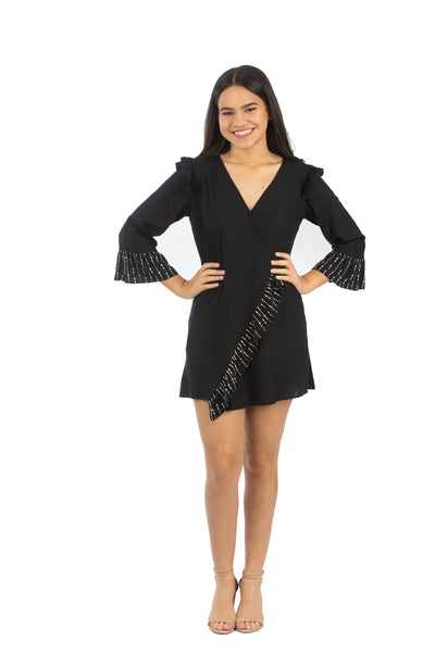 Little Black Romper | NR-706