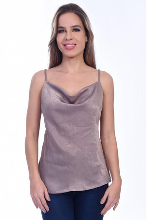 H-1033 | Camisole Top (Taupe)