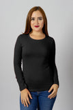 Black Long Sleeve Tee | 900LS