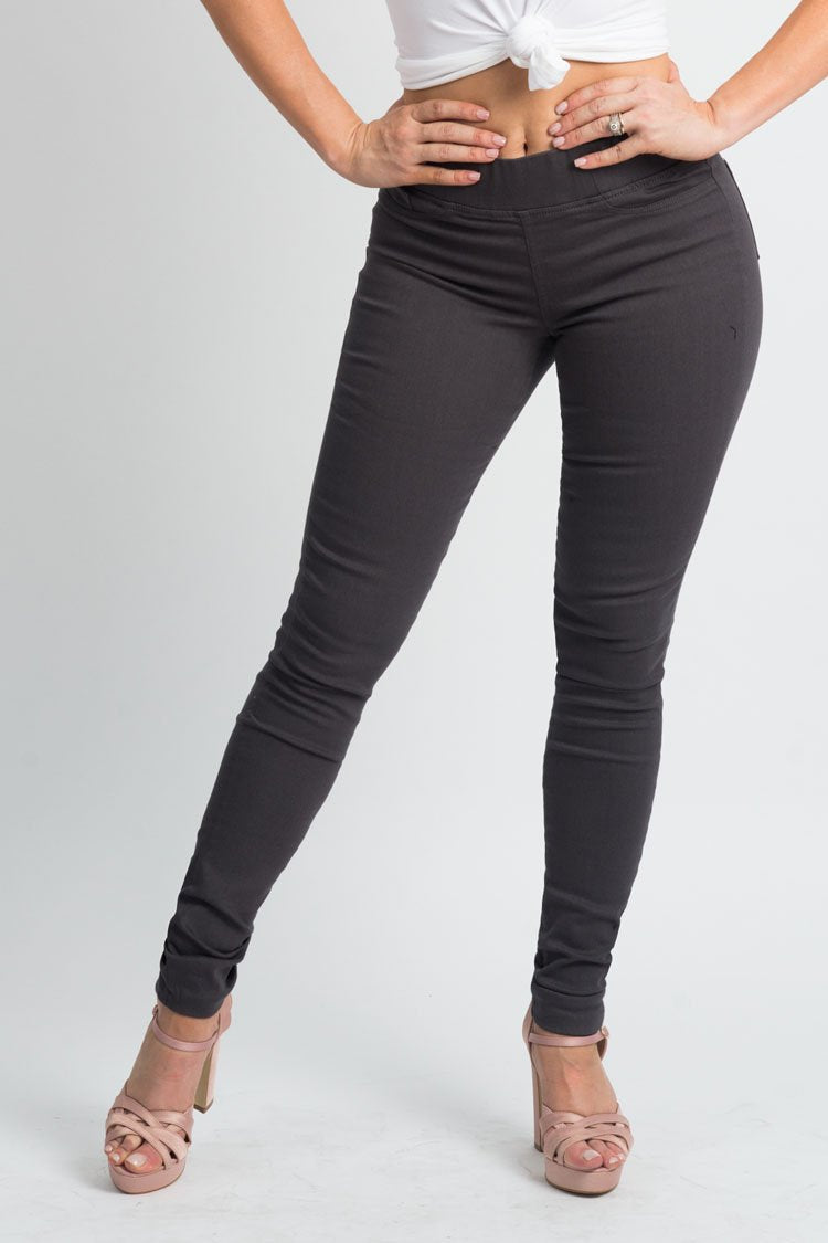 Charcoal Jeggings | H-304