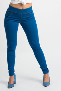 Blue Jeggings | H-304
