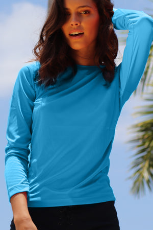 Rash Guard Hawaiian Ocean | H-7026LS