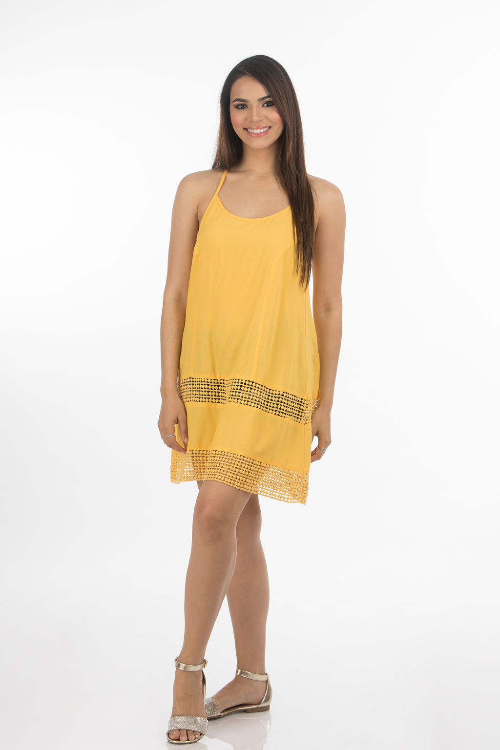 Hawaiian Short Dress | 333 (Yellow)