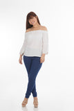 Solidate Blue Jeggings | H-304