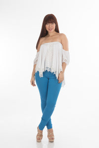 Brilliant Blue Jeggings | H-304