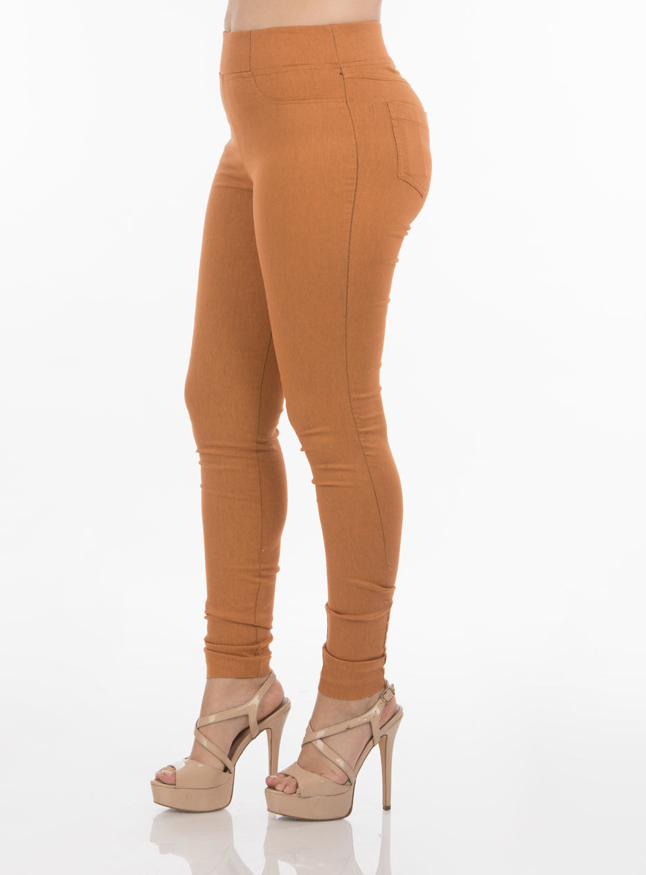 Golden Oak Jeggings | H-304