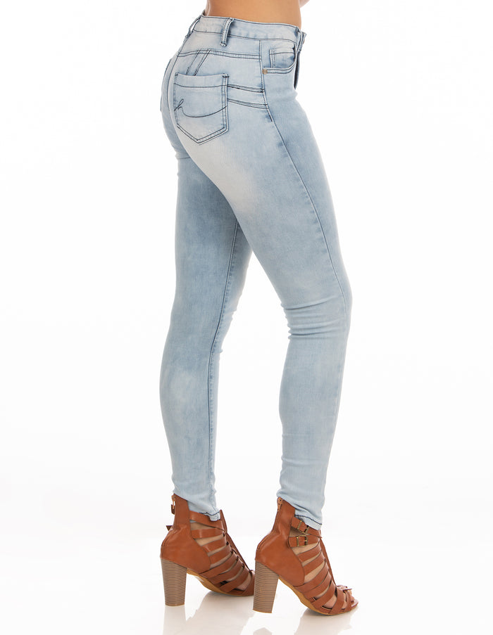 High Rise Jeans | H-2645