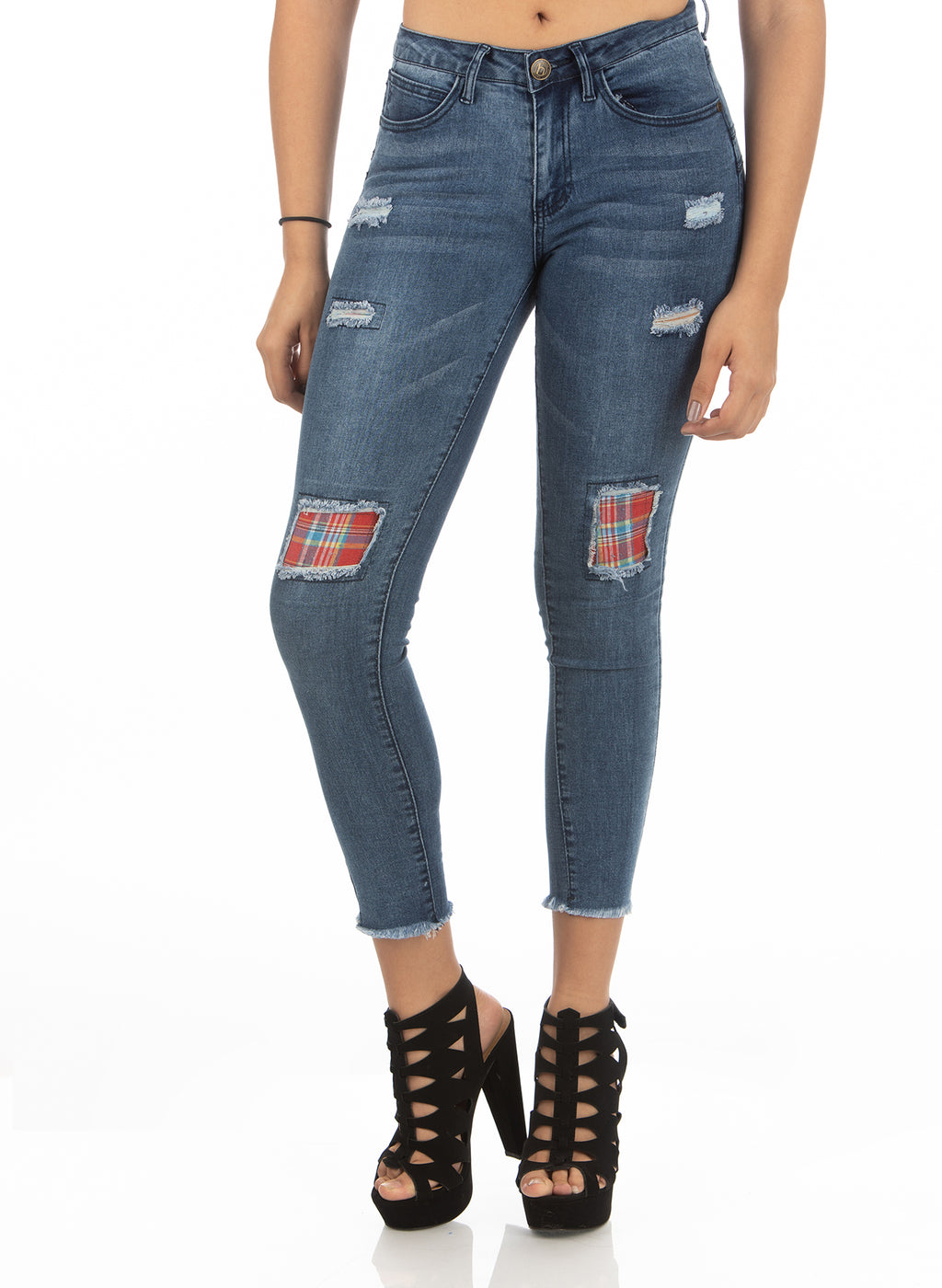 Mid Rise Jeans | H-2656