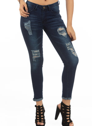 Mid Rise Jeans | H-2651