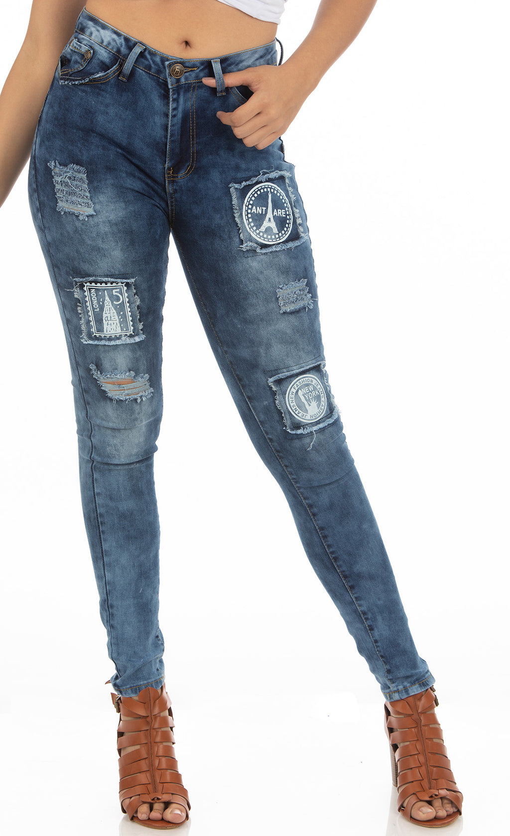 High Rise Jeans | H-2655