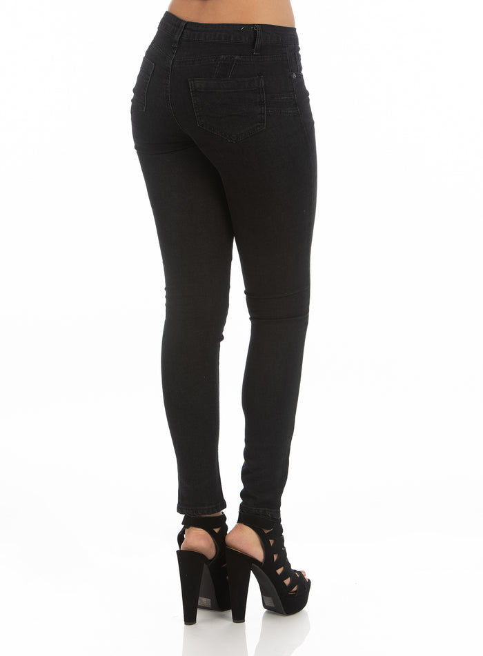 High Rise Jeans | H-2646