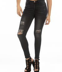 High Rise Jeans | H-2654