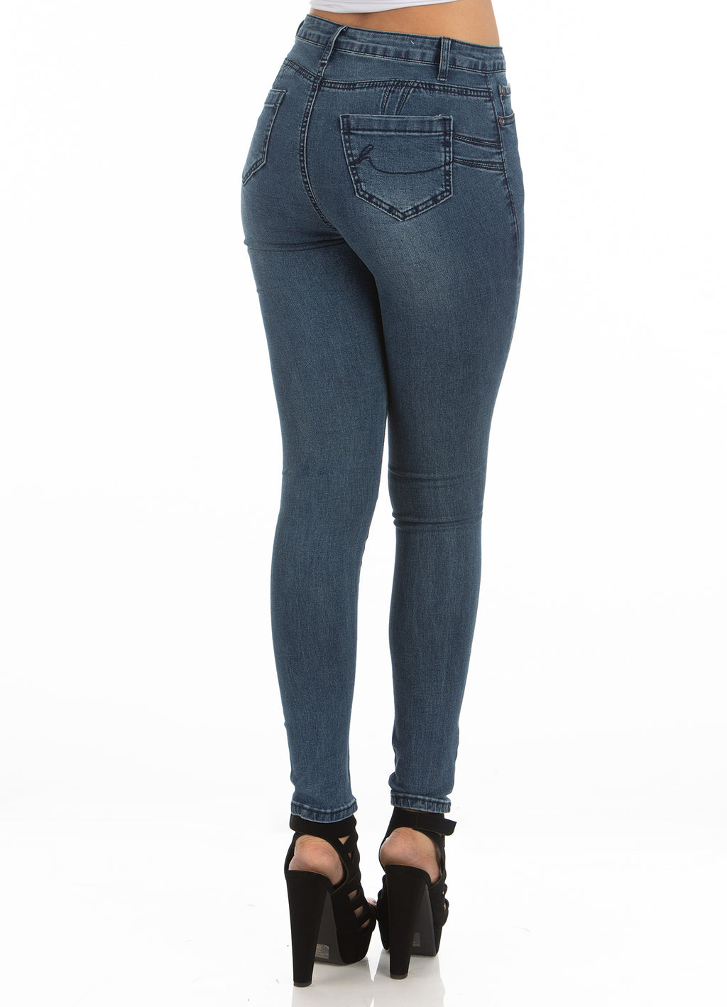 High Rise Jeans | H-2657