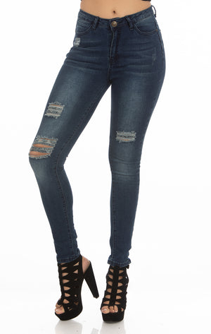 High Rise Jeans | H-2653