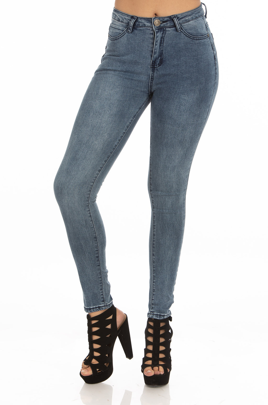 High Rise Jeans | H-2644