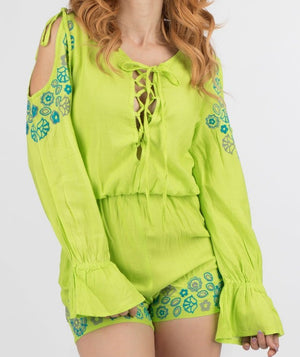 Embroidery Romper | 664