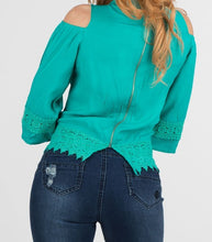 Crochet Detail Top | 655