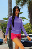 Rash Guard Lilac | H-7026LS