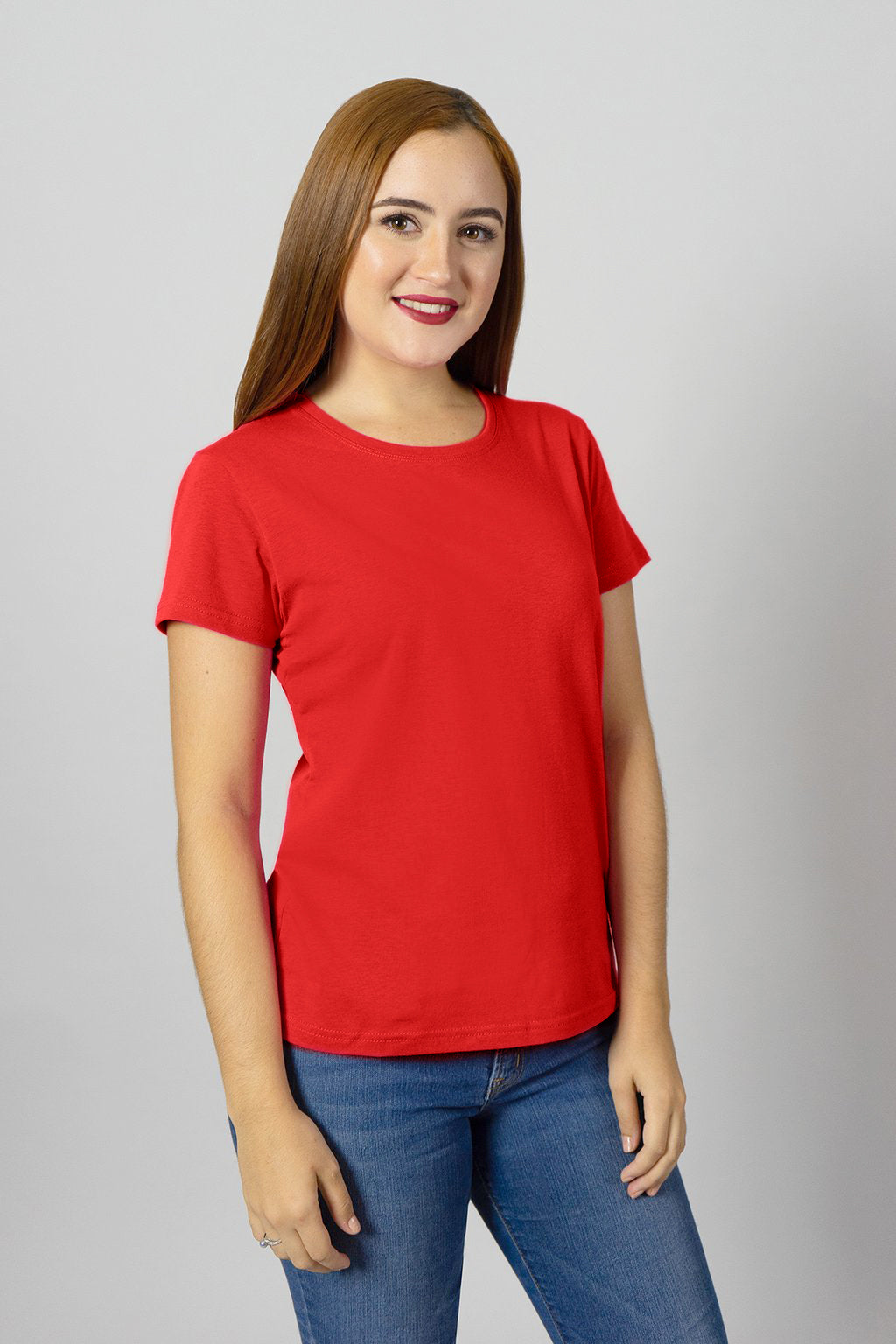High Risk Red Crew Neck Tee | 901S