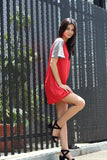 Red Poppy Dress | H-460