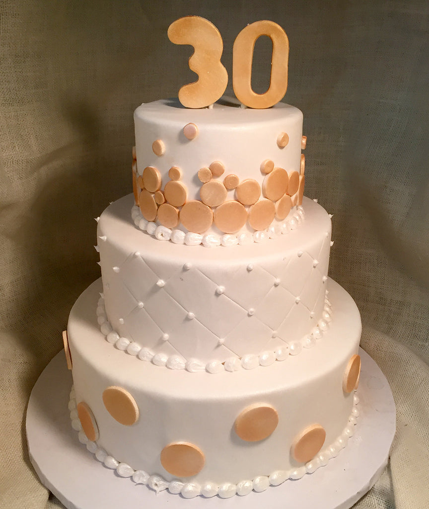 Bubbly Dots Cake