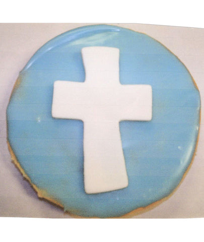 Cross Black and White Cookie