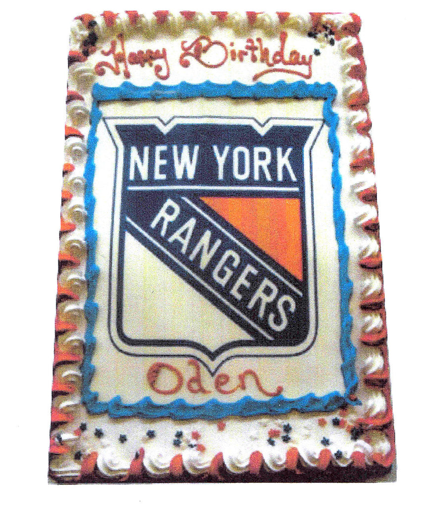 Hockey Logo Cake