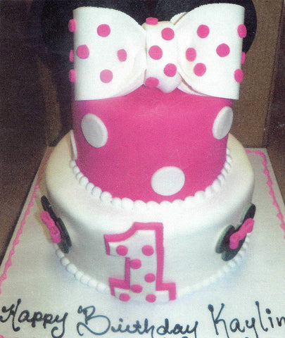 Minnie Icon Cake