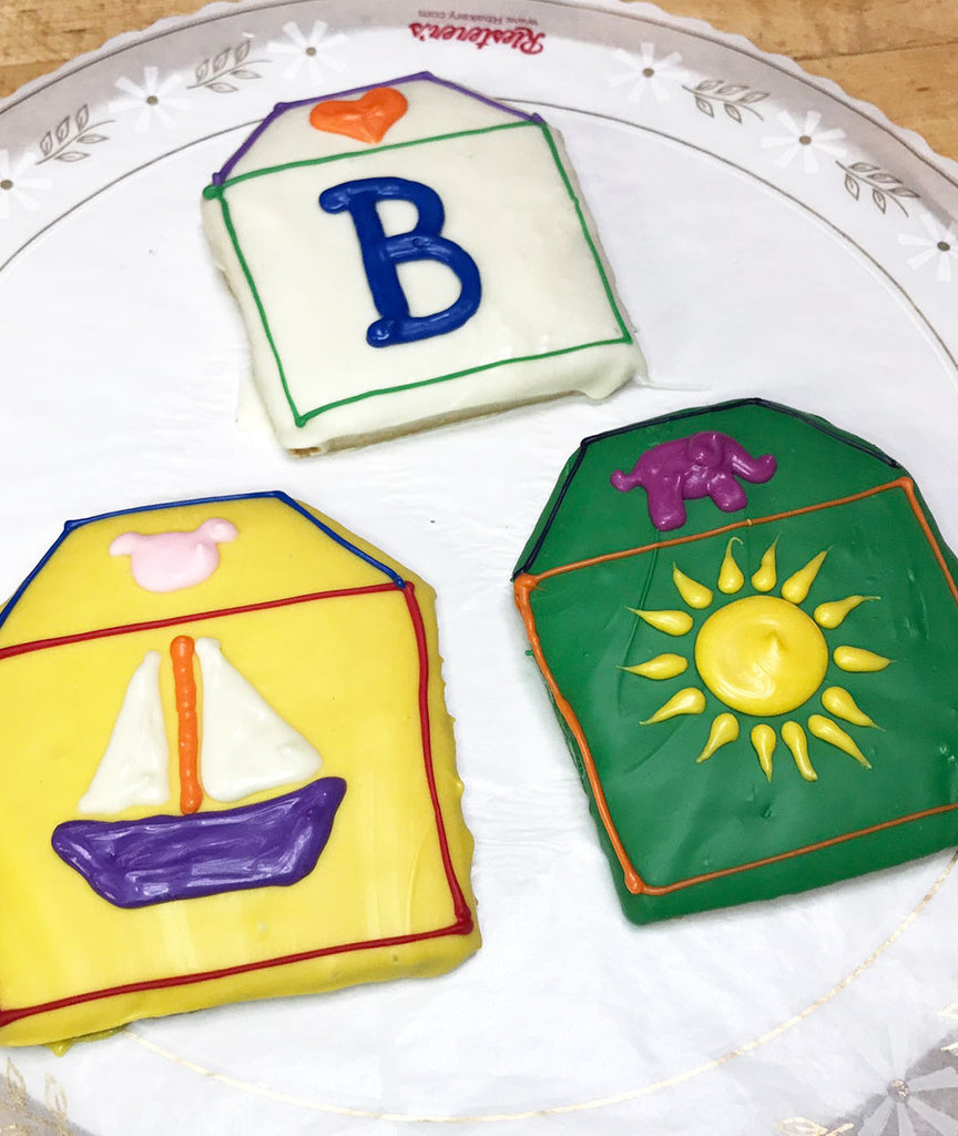Baby Blocks Cookie Favors
